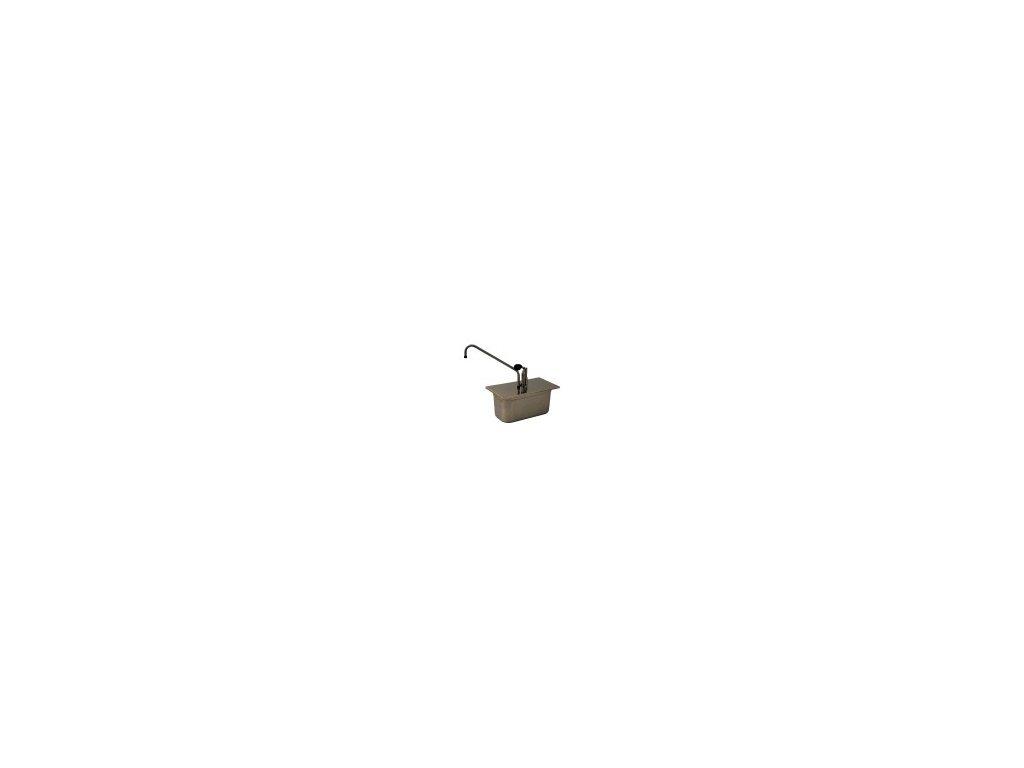 Dávkovač na hořčici GN 1/3/150 nerez  172513,150