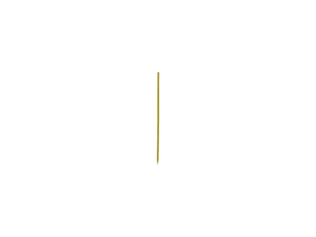 Bambusové špejle hrocené 25cm 200ks  0166705