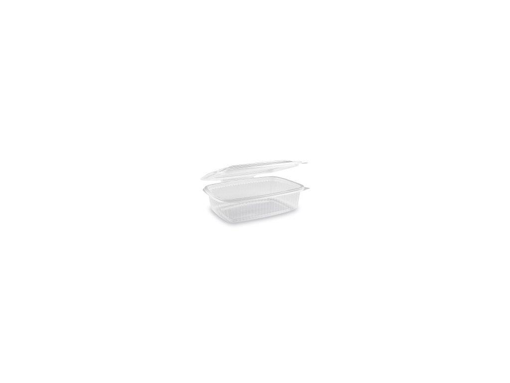 Miska oválná prů. s víčkem 750 ml (PP), 50 ks  0173807