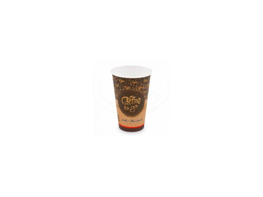 Kelímek papírový Coffe to go 510 ml XL 90mm 50 ks   0176651