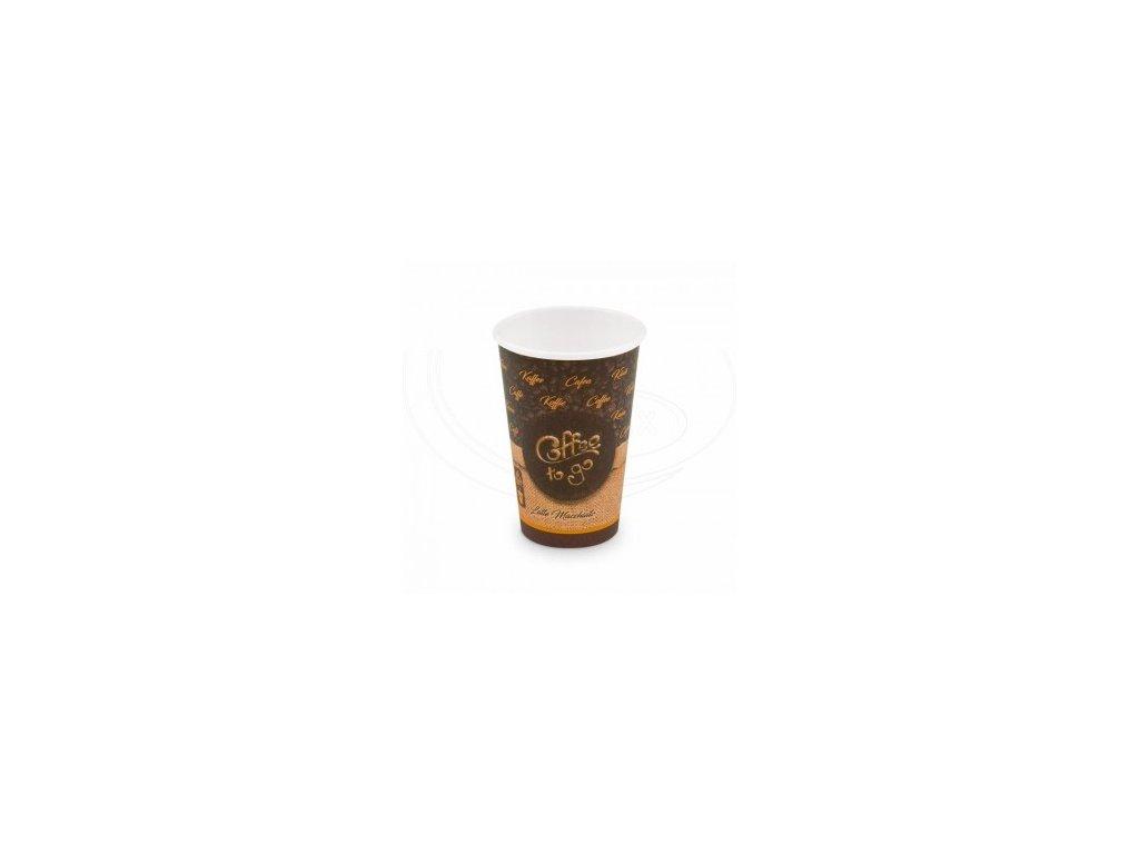 Kelímek papírový Coffe to go 420 ml 90mm 50 ks   0176642