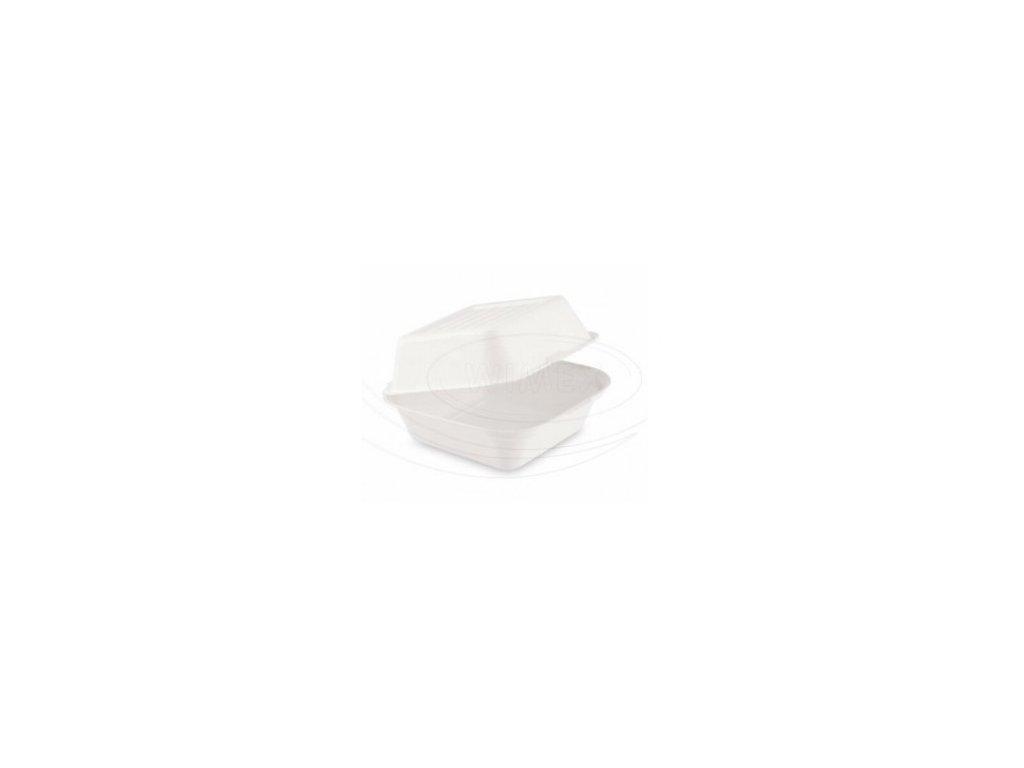 Box na hamburger BIO cukrová třtina 50 ks   0145506