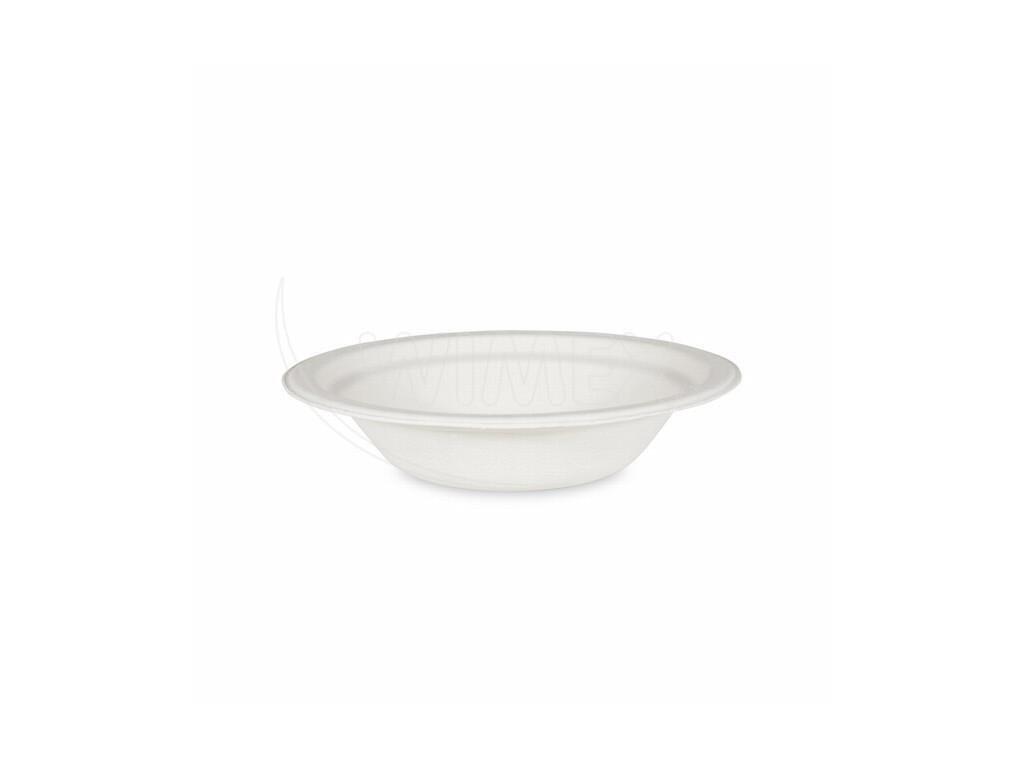 Miska kulatá BIO cukrová třtina 400 ml 50 ks   0142240