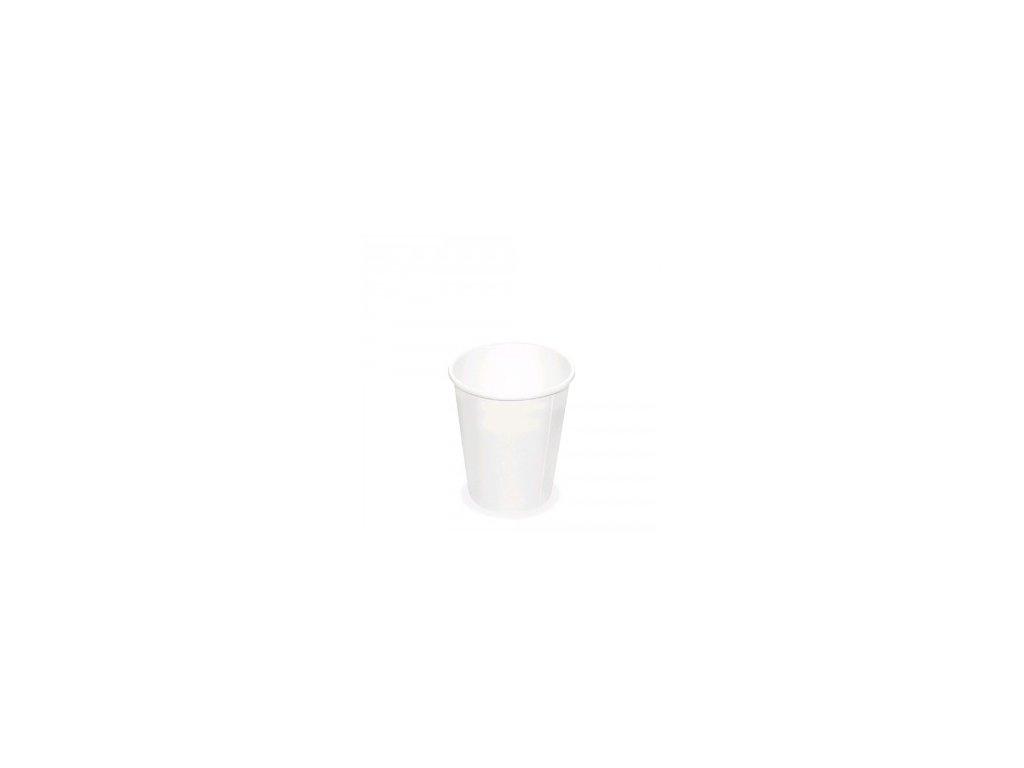 Papírový kelímek bílý 110 ml, XS (Ø 62 mm) [50 ks]