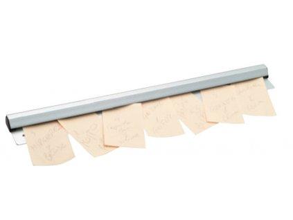 Držák na lístky 122cm aluminium  25490004