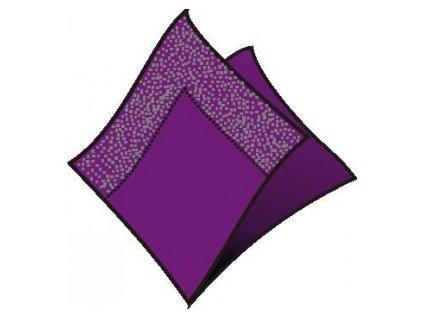 Ubrousky 2vrst. 33 x 33tm.fialové  250ks  0186911