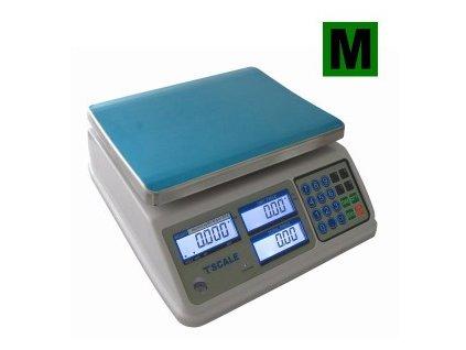 Váha TSCALE S29B-15 15kg, dílek 5g  5002