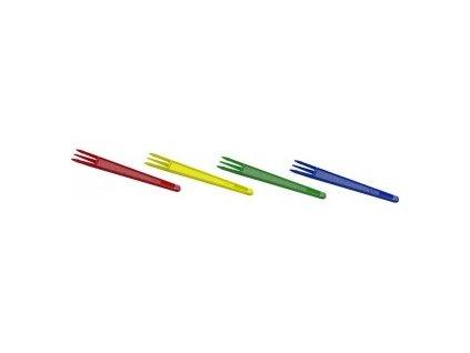 Vidlička na hranolky mix 7,5cm 2000ks  0173020
