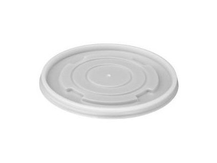 Víčko PLAST misky kulaté 340-680mk 50ks  0175401