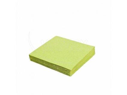 Ubrousk 2vrst 33x33 žlutozelené 250ks  0186917