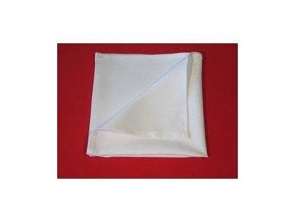 Ubrousek bílý 43x43  100043