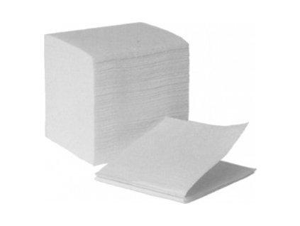 Tissue papír skládaný 2vrstvý 21,5x10,3  0160390