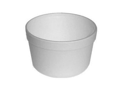 Termo-miska kulatá bílá 450ml 25ks  0175446