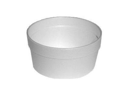 Termo-miska kulatá bílá 340ml 25ks  0175434