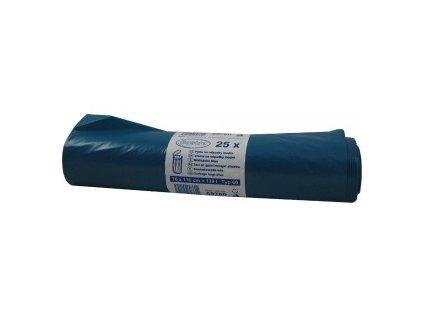 Pytle na odpadky modré 120l typ60 25ks  0169760