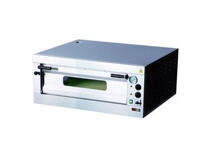 Pizza pec jednopatrová nerez E 4  20104200400