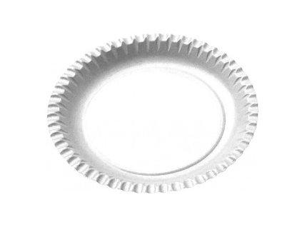 Papírové talíře mělké 23cm 100ks  0171423