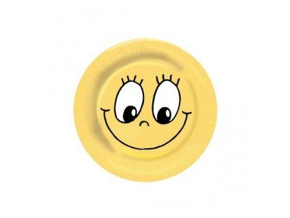 Papírové talíře 23 SMILEY 10ks  0182671