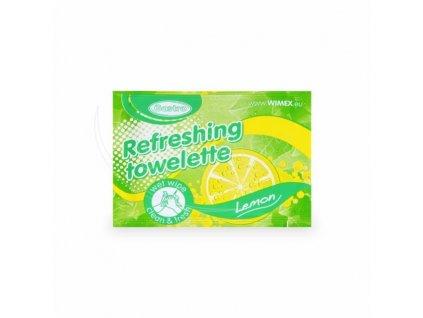 Osvěžující citronové ubrousky 250ks  0171599