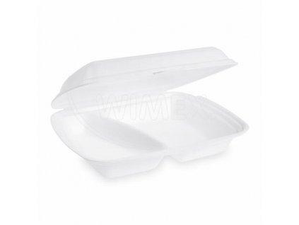 Menu box 2dílný bílý 241x207x69 125ks  0175632