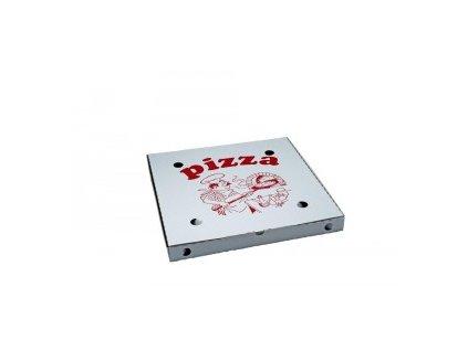 Krabice pizza vl.lepenka 45x45x4,5 100ks  0171945