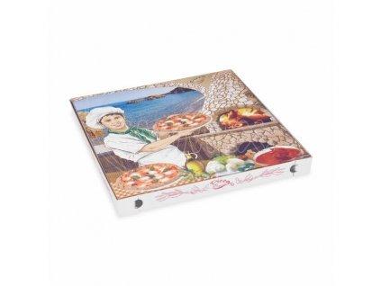 Krabice pizza vl.lepenka 40x40x3 100ks  0171940