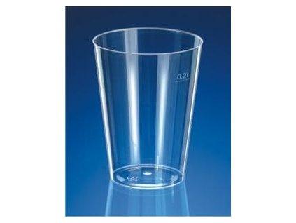 Kelímek krystal 0,2l 50ks  0173120