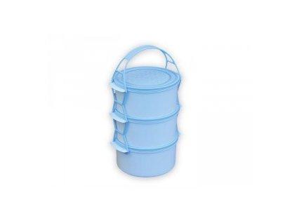 Jídlonosič 3dílný plast  3621817807