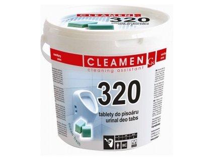 CLEAMEN 320 tablety do pisoáru 1kg  35320
