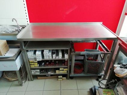 Pracovní stůl 1500x700x900 prolis deska ZL LL
