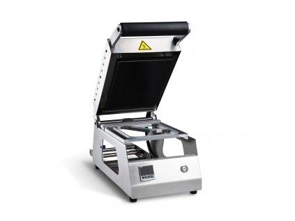 Stroj zatavovací pro PP misky