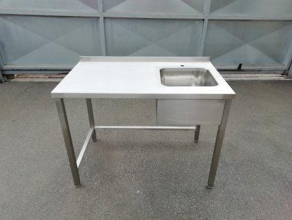 Stůl 1200/700/900 se dřezem