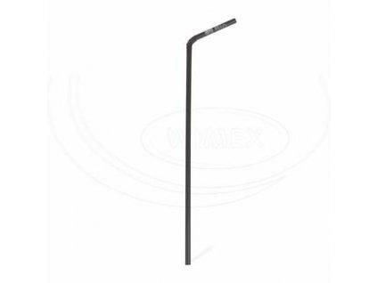 BIO Slámka flex černá PLA 24cm 250ks