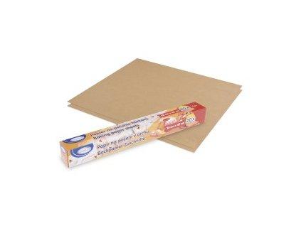 Papír na pečení v archu hnědý 38x42 cm 20ks  0169300