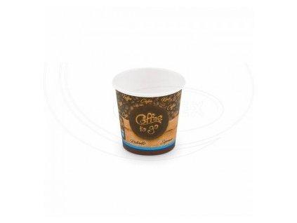 """Papírový kelímek """"Coffee to go"""" 110 ml, XS (Ø 62 mm) [50 ks]"""