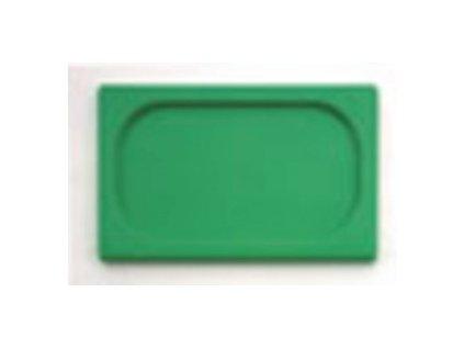 Víko 1/2 GN polypropylen zelené   1814725-33