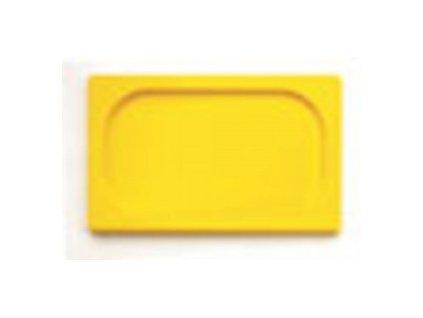 Víko 1/2 GN polypropylen žluté   1814725-22