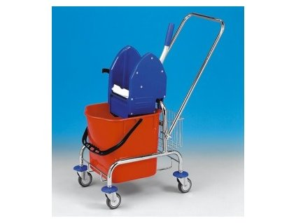 Úklidový vozík Clarol 1x25l bez košíků  5821004 C