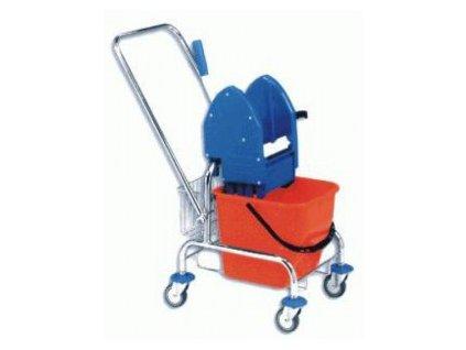 Úklidový vozík Clarol 1x17l bez košíků  5821005 C