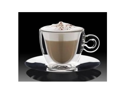Thermic glass Cappuccino  plus podšalek 2ks  2810086/01