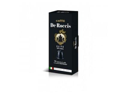 Kapsle De Roccis ELITE 100% Arabica /nespresso 10ks  6570