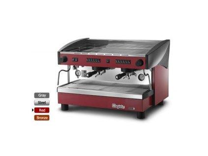 Kávovar 2x páka EX 100 STILO red 230V  8703