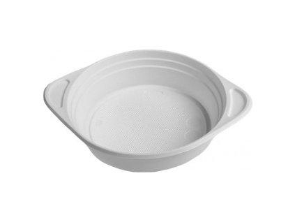 Šálek na polévlu bílý 350 ml (PS)100ks  0173609