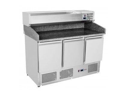 Pizza stůl s chladící vitrínou VRX-1400  20SP-903