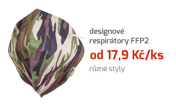 Designové respirátory