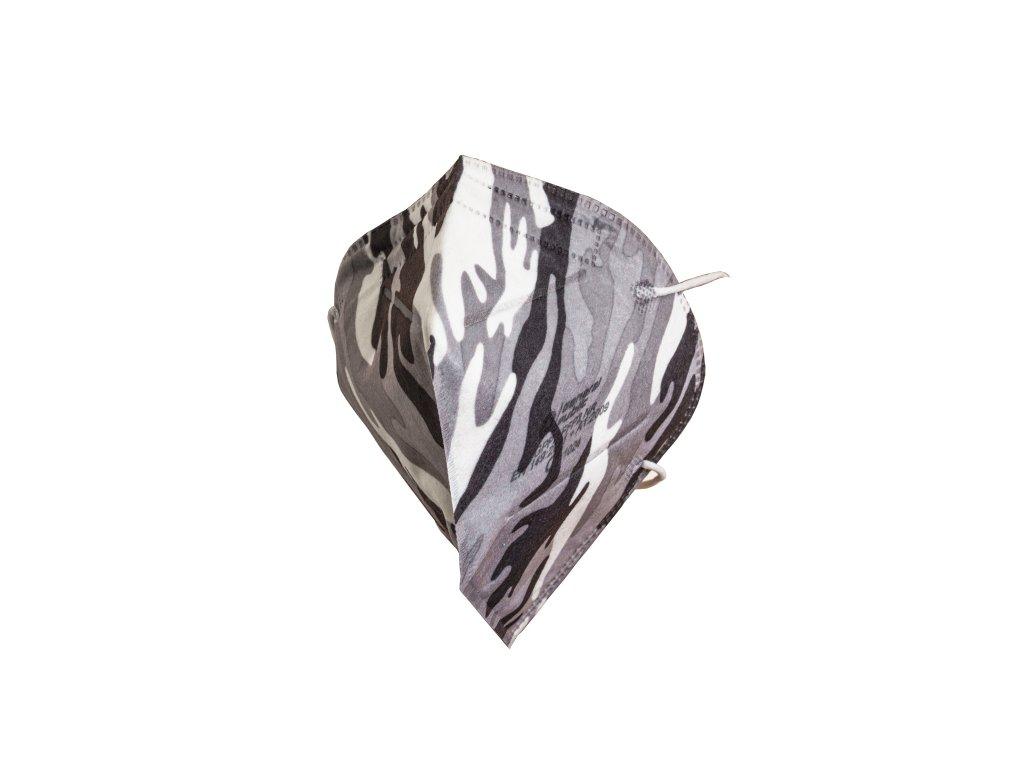 Designové respirátory GPP2 FFP2 NR (CE) - 10 ks