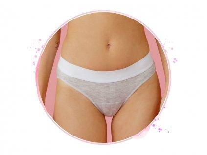 menstruacne nohavicky Genial Day grey