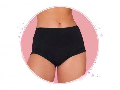 menstruacne nohavicky hi waist black