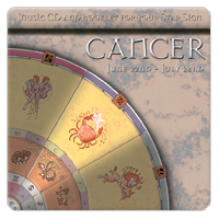 CANCER (rak) 1 CD - relaxační hudba GLOBAL JOURNEY