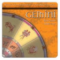 GEMINI (blíženci) 1 CD - relaxační hudba GLOBAL JOURNEY